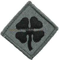 us army 4th army Patch