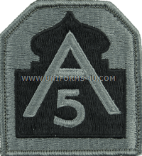 us army 5th army ACU military Patch