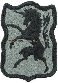 us army 6th army cavalry ACU military Patch