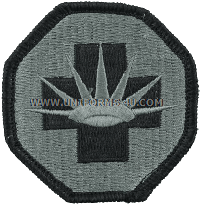 us army 8th medical brigade Patch