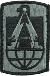 us army 11th signal brigade Patch