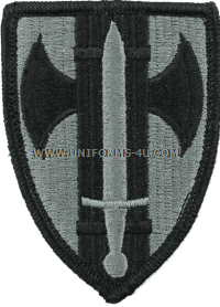 us army 18th military police brigade Patch