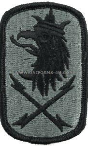 us army 22nd signal brigade Patch