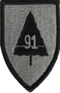 91st infantry division ACU military Patch