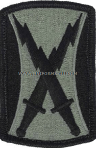 us army 106th signal brigade Patch