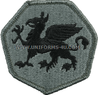 108th airborne division ACU military Patch
