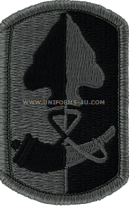 187th infantry brigade ACU military Patch