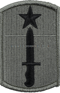 205th infantry brigade ACU military Patch