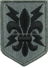 205th military intelligence brigade ACU military Patch