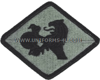 266th finance center ACU military Patch