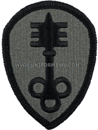 300th military police brigade ACU military Patch