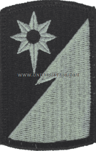 319th military intelligence ACU military Patch