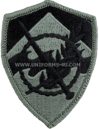 350th civil affairs brigade ACU military Patch