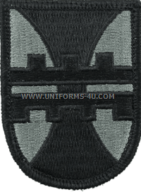 412th engineer brigade ACU military Patch