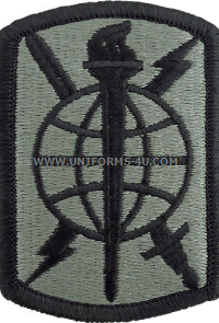 500th military intelligence ACU military Patch