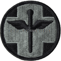 818th hospital center ACU military Patch