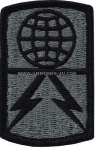 1108th signal ACU military Patch