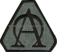us army acquisition agency Patch
