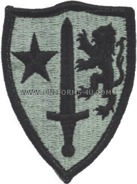allied command ACU military Patch