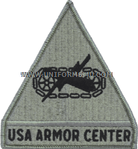 us army armor center Patch