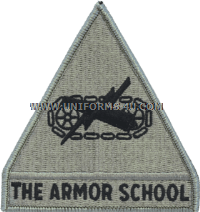 us  army armor school Patch