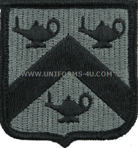 command and general staff school ACU military Patch