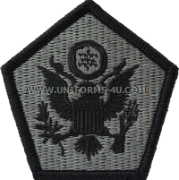 head quarters command ACU military Patch