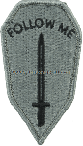 infantry school  ACU military Patch