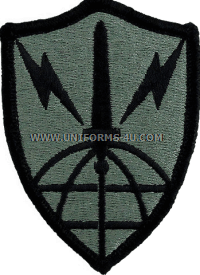 information system engineering command ACU military Patch