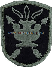 jfk special warfare ACU military Patch