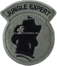 jungle expert ACU military Patch