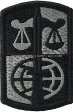 legal service agency ACU military Patch