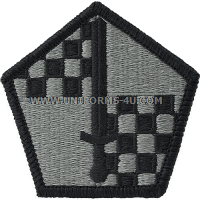 military entrance and processing  ACU military Patch
