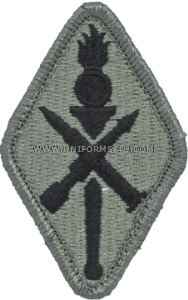 missile school ACU military Patch