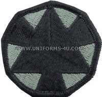 national training center ACU military Patch