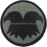 reserve command ACU military Patch
