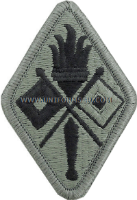 signal training school ACU military Patch