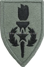 sergeant major academy ACU military Patch