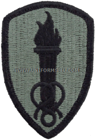soldier support center ACU military Patch