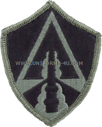 space command ACU military Patch