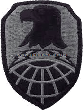space and strategic defense command ACU military Patch