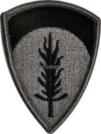 usa europe ACU military Patch