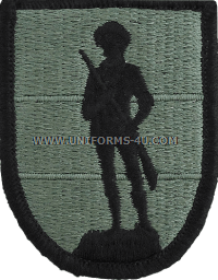 army national guard school ACU military Patch