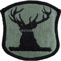 idaho national guard ACU military Patch