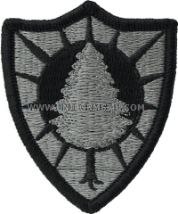 maine national guard ACU military Patch