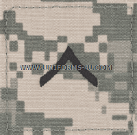 U.S. Army Combat Uniform (ACU) Private E-2 Rank Insignia