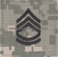 army combat uniform acu sergeant 1st class rank insignia