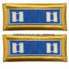 U.S. ARMY MILITARY INTELLIGENCE CORPS SHOULDER STRAPS