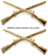 U.S. Army Infantry Collar Devices