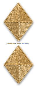 U.S. Army Finance Corps Collar Devices